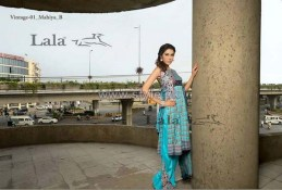 Lala Textiles Vintage Shawl Dresses 2013-2014 For Winter 1