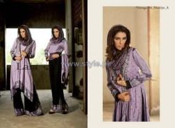 Lala Textiles Vintage Shawl Dresses 2013-2014 For Winter 7
