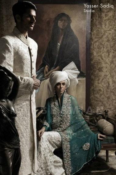 Nauman Arfeen Wedding Dresses 2013 For Men And Women 009