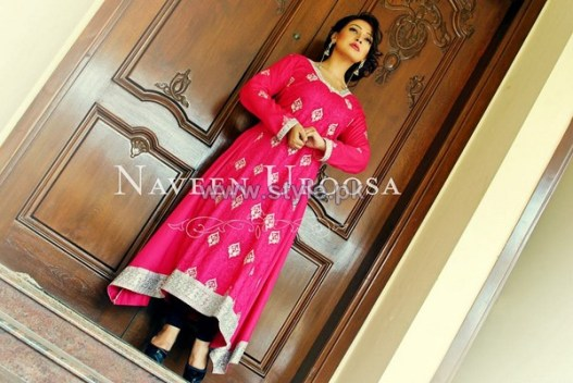 Naveen Uroosa Winter Dresses 2013-2014 For Girls 4