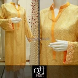QnH Winter Long Shirt Designs 2013 For Girls 2