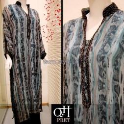 QnH Winter Long Shirt Designs 2013 For Girls 3