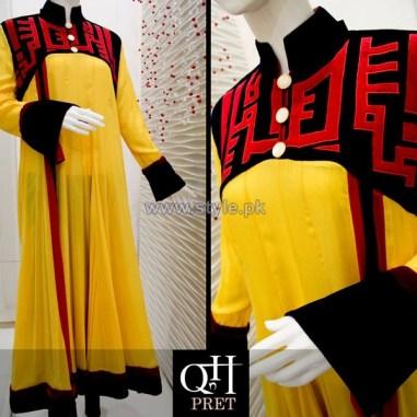 QnH Winter Long Shirt Designs 2013 For Women 8
