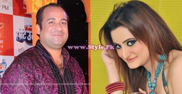 Rahat Fateh Ali Khan and Falak Married