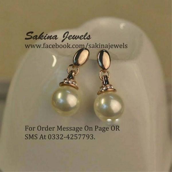 Sakina Jewellery Earring Designs 2013 For Women 003