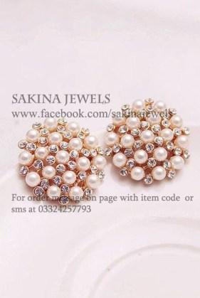 Sakina Jewellery Earring Designs 2013 For Women 009