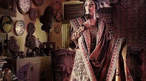 Ali Xeeshan Bridal Wear Dresses 2013-2014 for Women