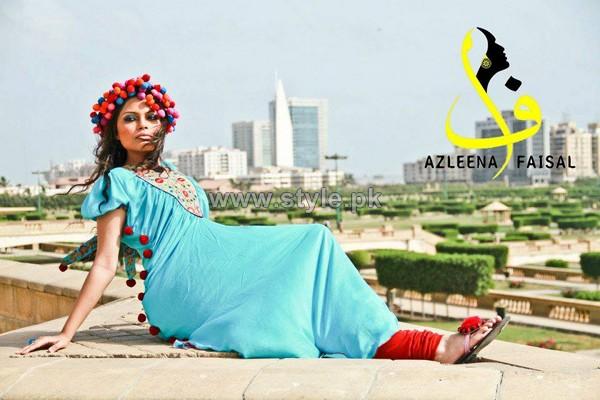 Azleena Faisal Winter 2014 Dresses For Women 4