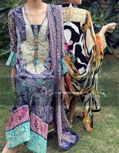 Braahtii Winter Dresses 2014 For Women 006
