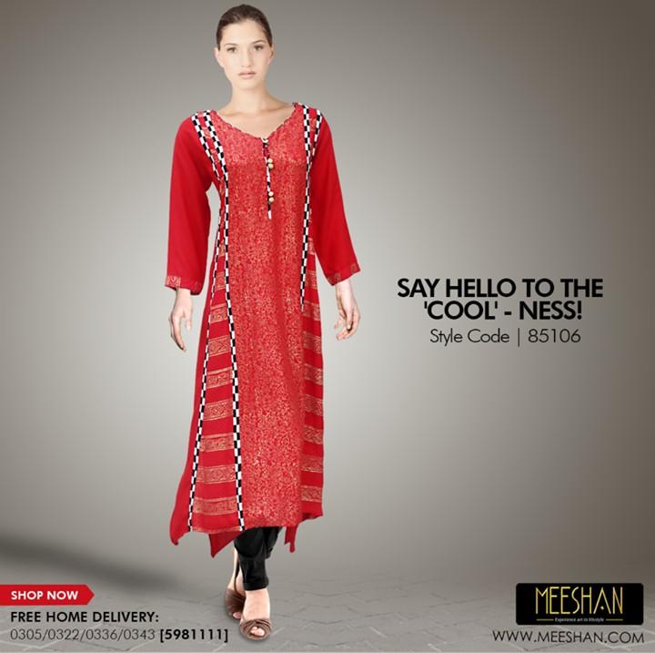 Casual Wear Dresses 2014 by Meeshan