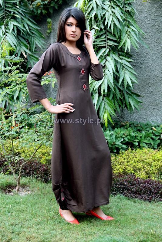Damak Casual Wear 2014 Dresses For Women 10