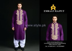Emraan Rajput Formal Wear Kurtas 2014 For Men 9