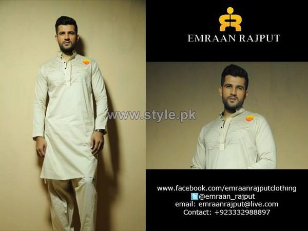 Emraan Rajput Winter Shalwar Kameez Designs 2013-2014 For Men 6