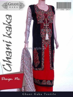 Ghani Textile Winter Clothes 2014 For Women 7