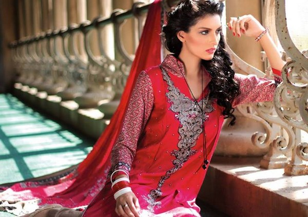 Ittehad Textiles New Linen Dresses 2014 for Women