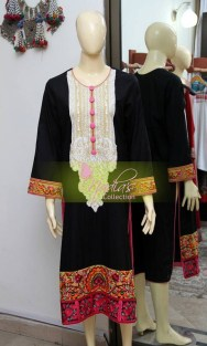 Nadia's Collection Winter Dresses 2014 For Women 0012