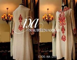 Naureen Arbab Party Wear Dresses 2014 For Winter 3