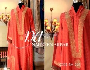 Naureen Arbab Party Wear Dresses 2014 For Winter 4