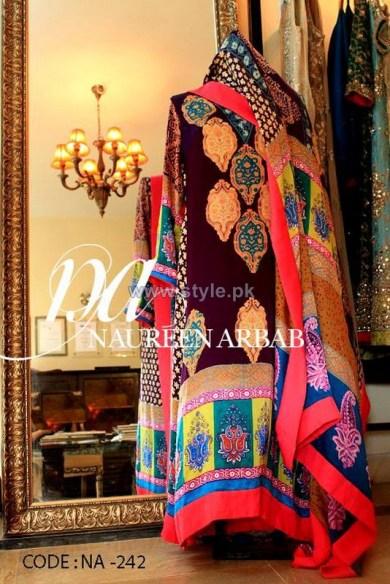 Naureen Arbab Party Wear Dresses 2014 For Women 6