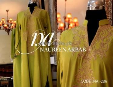 Naureen Arbab Party Wear Dresses 2014 For Women 7