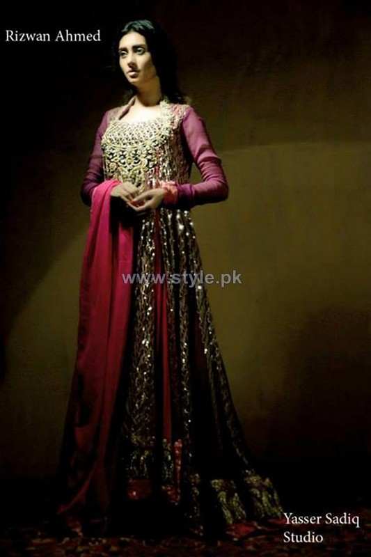 Rizwan Ahmed New Formal Dresses 2014 For Women 5