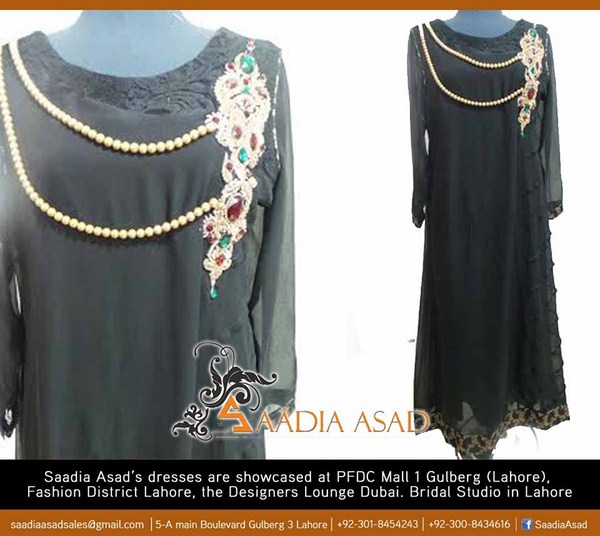 Saadia Asad Winter Dresses 2014 For Women 004