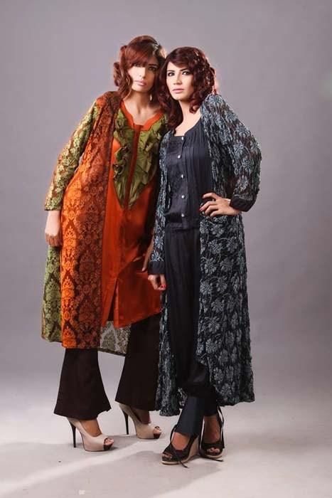 Zunaira Lounge Winter 2014 Dresses For Women 002