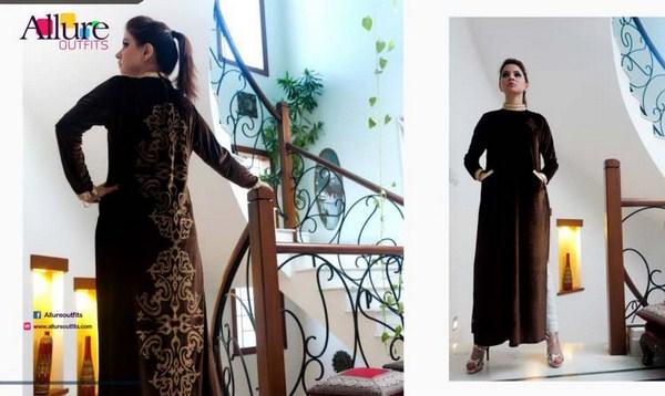 Allure Winter Dresses 2014 For Women 003