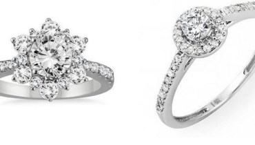 Beautiful White Gold Engagement Rings