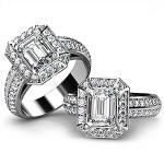 Best Emerald Cut Engagement Rings