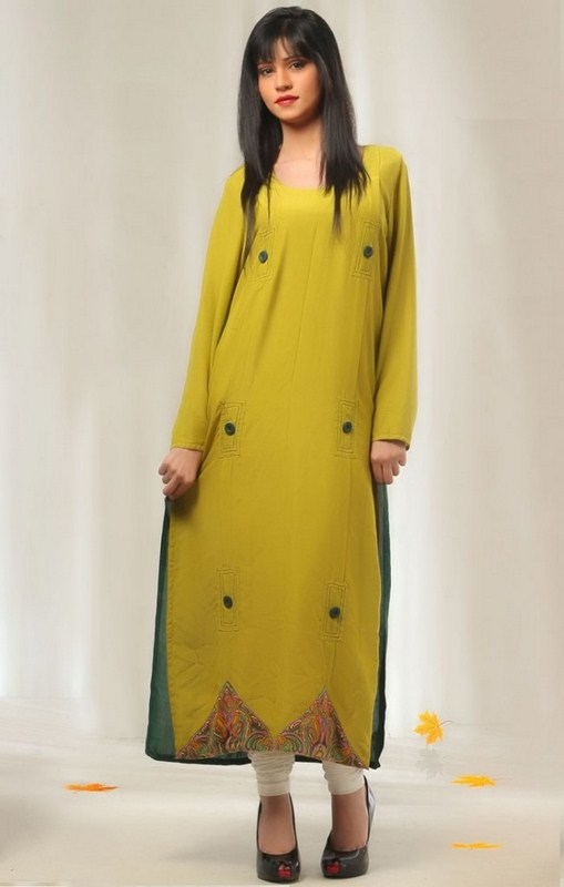 Casual Wear Dresses 2014 For Girls 0012