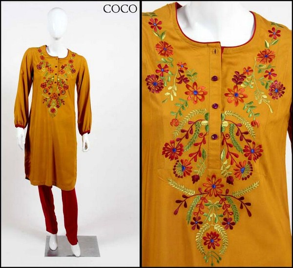 Coco Winter Dresses 2014 For Women 001