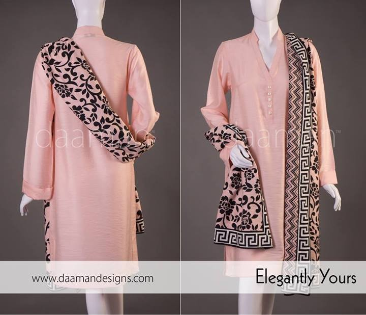 Daaman Casual Wear 2014 for Girls and Women
