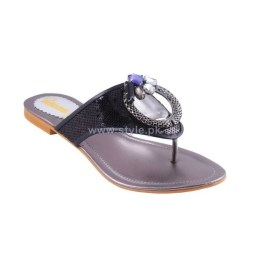 Gul Ahmed Casual Wear Slippers 2014 For Girls 1