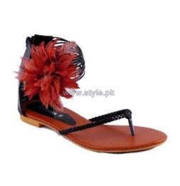 Gul Ahmed Casual Wear Slippers 2014 For Women 6