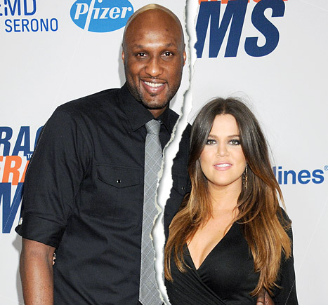 Hollywood Celebrity Splits Of 2013-Khloe and lamar