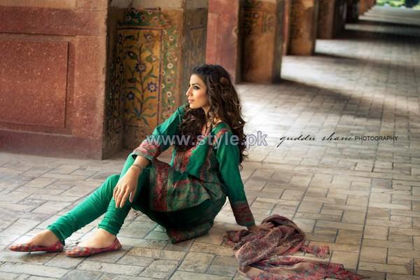 Khaadi Mid Winter Dresses 2014 For Women 7