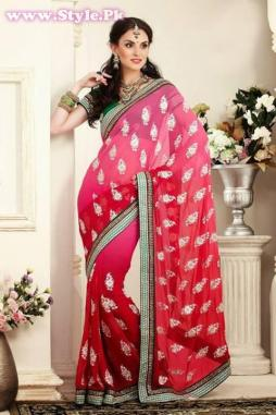 Latest Designs of Sarees 2014 for Women005