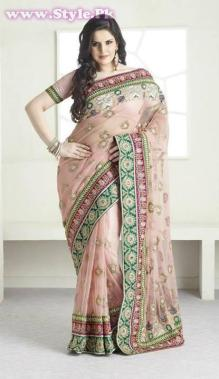 Latest Designs of Sarees 2014 for Women006