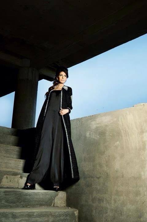 Mashaal Moazzam Winter Dresses 2014 For Women 005