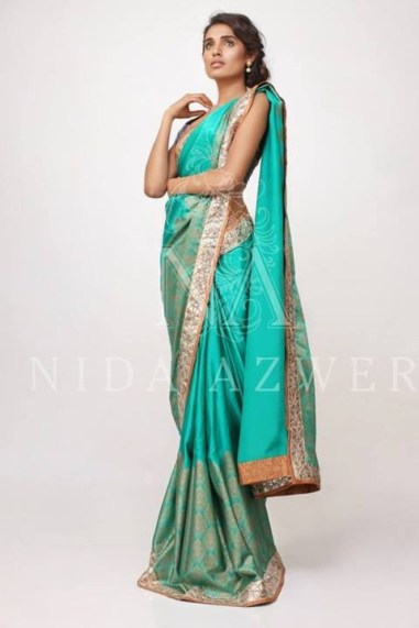 Nida Azwer Formal Wear Dresses 2014 for Women012