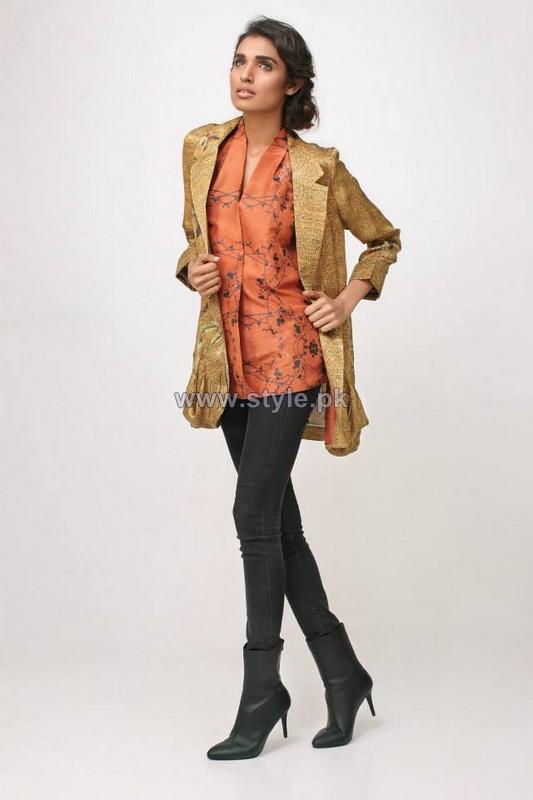 Nida Azwer Winter Jackets 2014 For Girls 5