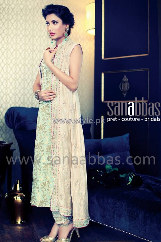 Sana Abbas Pristine Collection 2014 For Women 4