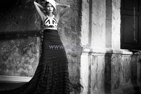 Sana Safinaz Western Wear Dresses 2014 For Women 4