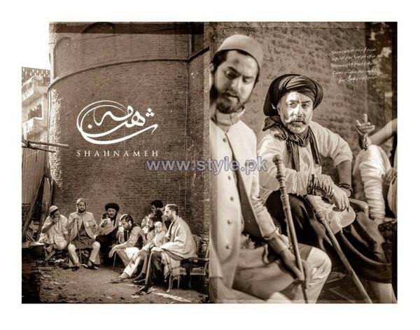 Shahnameh Heritage Menswear Dresses 2014 For Winter 5
