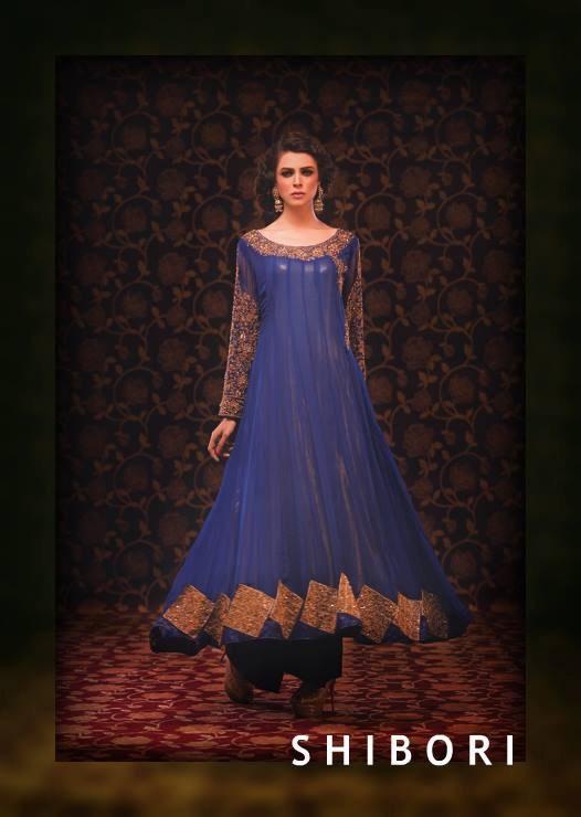 Shibori Formal Wear Collection 2014 For Ladies 002