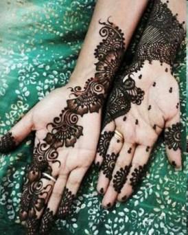 Simple Mehndi Designs For Girls 0016