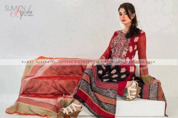 Suman Ayesha Winter Dresses 2014 For Women 008