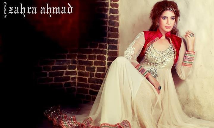 Zahra Ahmad Party Wear 2014 for Women