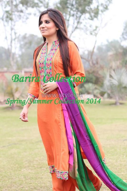 barira spring summer dresses 2014 for girls
